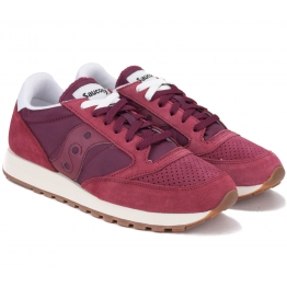 КРОССОВКИ SAUCONY JAZZ ORIGINAL S70419-1 42(8,5)(р) Bordo Замша/Текстиль
